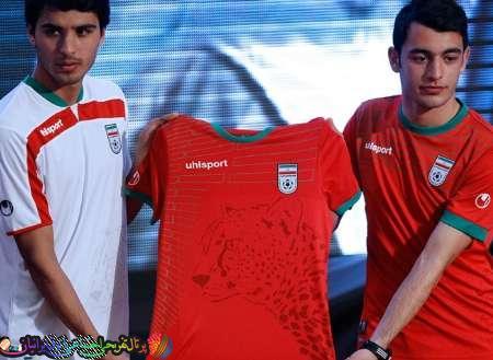 رونمایی از پیراهن جدید تیم ملی
