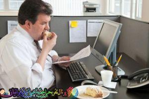 چند روش برای جلوگیزی از اضافه وزن در محل کار