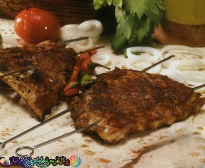 طرز تهیه کباب ترکی با نان و ماست + عکس